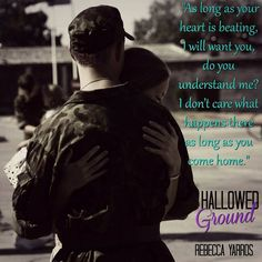 New Military Romance! Hallowed Ground by Rebecca Yarros is Now Available! Hallowed Ground Flight & Glory #4 Author: Rebecca Yarros Publisher: Entangled Publishing Imprint: Entangled Embrace G...