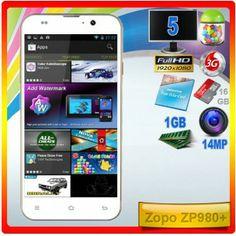 Zopo ZP980+ Octa Core  Zopo le pone 8 núcleos a uno de sus superventas