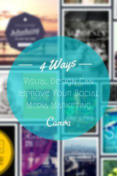4 Ways Visual Design Can Improve Your Social Media Marketing http://www.socialmediaexaminer.com/4-visual-design-elements/ #socialmedia