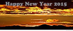 Happy New Year 2015 sunset wallpaper
