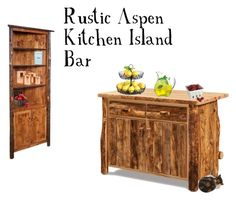 """""""Rustic Kitchen"""" by dutchcrafters ❤ liked on Polyvore featuring interior, interiors, interior design, home, home decor, interior decorating, DutchCrafters, Nearly Natural, Artland and Luigi Bormioli"""