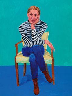 Actual - Arte, cultura, moda e criação: David Hockney - Guggenheim Bilbao David Hockney Portraits, David Hockney Art, David Hockney Paintings, Peter Blake, Figure Painting, Painting & Drawing, Encaustic Painting, Figurative Kunst, John Baldessari