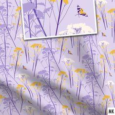New in my @Spoonflower shop: Eupatorium flowers lilac, available on fabric, wallpaper and home decor. Neu in meinem @Spoonflowerde Shop: Wasserdost & Schmetterlinge in lila. Erhältlich auf Stoff, Tapete + Wohndekor. #botanical #buyfabriconline #digitalillustration #eupatorium #fabric #fabricdesigner #floral #floraldesign #graphicdesign #lilac #neuestoffe #nähen #patternartist #seamlesspattern #sewingisfun #spoonflower #spoonflowerde #spoonflowerfabrics #spoonflowermakers #stoffmuster… Of Wallpaper, Pattern Wallpaper, Buy Fabric Online, Shops, Fabric Patterns, Tea Towels, Custom Fabric, Spoonflower, Lilac