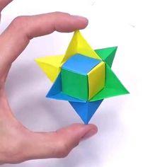 Origami Pig, Origami Toys, Paper Crafts Origami, Diy Paper, Fun Origami, Geek Crafts, Diy Crafts For Gifts, Fun Crafts, Bakemono No Ko