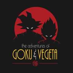 Check out this awesome 'Adventures+of+Goku+%26+Vegeta' design on @TeePublic! - Visit now for 3D Dragon Ball Z compression shirts now on sale! #dragonball #dbz #dragonballsuper