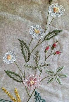 Resultado de imagem para embroidery stitches