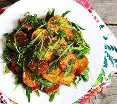 Saute potatoes with sundried tomatoes #thepotatopeople @Albert_Bartlett
