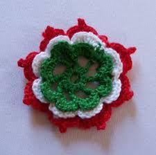 """Képtalálat a következőre: """"kokárda"""" Crochet Motif, Knit Crochet, Needle Tatting, Crochet Earrings, Crochet Jewellery, Cross Stitch, Knitting, Flowers, Diy"""