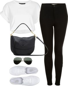 Untitled #731 by loveeleanorfashion featuring ray ban sunglasses