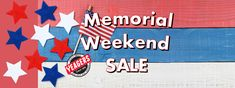 Our Memorial Weekend Sale starts today at all four Yeagers locations. Come and see the great sales we have through the weekend!