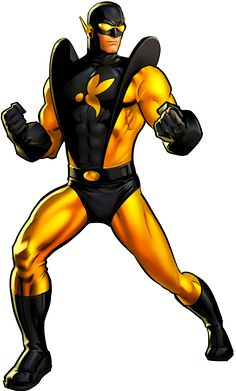 Yellow Jacket (Hank Pym) by AlexelZ on DeviantArt Comic Book Characters, Marvel Characters, Comic Books, Fictional Characters, Marvel Dc, Dc Comics, Hank Pym, Marvel Drawings, Random Drawings