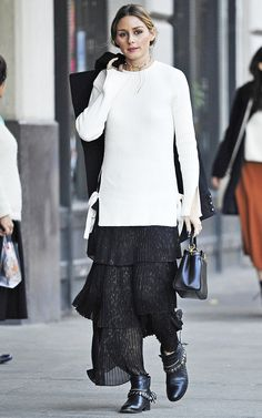 Prediction: Olivia Palermo Will Wear This Under-$100 Skirt on Repeat via @WhoWhatWear