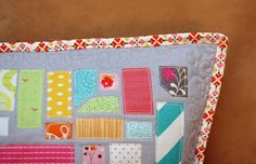 Some of the quilting by GoldWillow, via Flickr