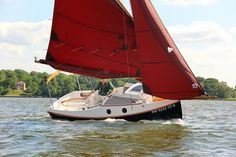 PocketShip: 15-foot Fast-Sailing Pocket Cruiser with Sitting Headroom and 8-foot Berths! Pocket Ship Plans