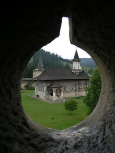 Monastery In Bucovina, Romania. Wonderful Places, Beautiful Places, Visit Romania, Little Paris, Bucharest Romania, Austro Hungarian, Beautiful Buildings, Eastern Europe, Beautiful World