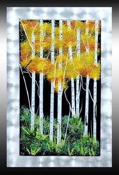 NatureScapes in Glass with Nadine Booth Sgraffito, Fused Glass, Glass Art, Wall Art, Gallery, Artwork, Pictures, Art Ideas, Landscapes