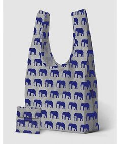 I have this pattern on a backpack. It gets lots of compliments and I always share the backstory on why I love elephants/Elefants!