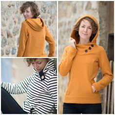 Paprika Patterns Jasper Sweater Dress Downloadable Pattern sewing pattern