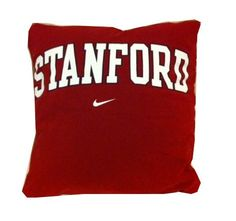 Stanford University recycled tshirt pillow throw by reclaimLA, $25.00