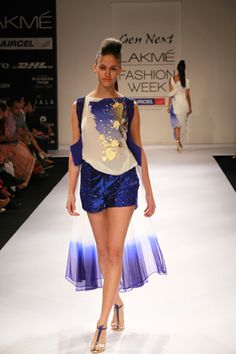 Aniket Satam Winter/Festive 2012. Lakmé Fashion Week.