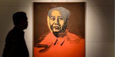 Même si l'utilisation des images de Mao Tsé-toung reste sensible en Chine, un des portraits d'Andy Warhol de l'ancien dirigeant s'est vendu près de 12 millions d'euros dimanche.