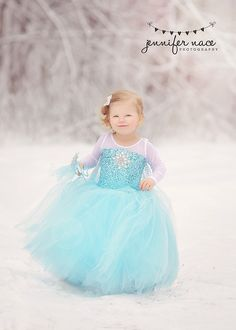 #Frozen  Elsa  inspired dress  tutu #costume 18 #month,  View more on the LINK: 	http://www.zeppy.io/product/gb/3/208732618/