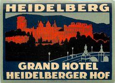 Grand Hotel - Heidelberg Hof Heidelberg, Germany