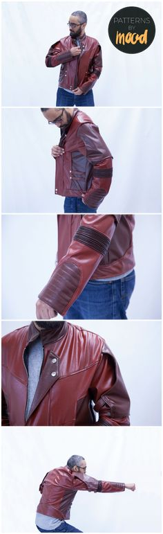 Mood Cosplay: Free GotG2 Star-Lord Jacket Pattern | You can't defend the galaxy in just anything. To celebrate Superhero Day, as well as the upcoming release of Guardians of the Galaxy Vol 2., I recreated Star-Lord's newest jacket. The best part? There's a free template, so you can make your own, look fabulous, and start kicking some alien butt!