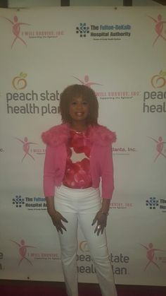 Kini Kameleon at the Breast Cancer Charity Event