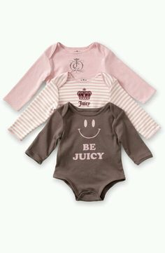 Juicy couture for little girls! I can't take it!