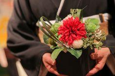 両親に感謝の気持ちをこめて。 贈呈品、贈呈フラワー、両親へ、結婚式、和婚