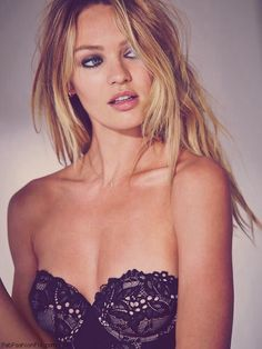 Gorgeous Candice Swanepoel for Victoria's Secret Valentine's Day 2015 collection. #candiceswanepoel