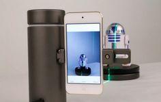 Lee eora 3D, para escanear objetos en 3D usando un láser desde el móvil
