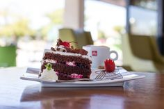 Delicious sweet treats and coffee at the People's Park Cafe at Moses Mabhida Stadium Outlets, Sweet Treats, Retail, Park, Coffee, Desserts, Food, Kaffee, Tailgate Desserts
