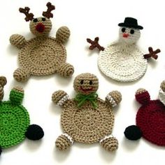 125 Christmas and Hanukkah trinket crochet patterns