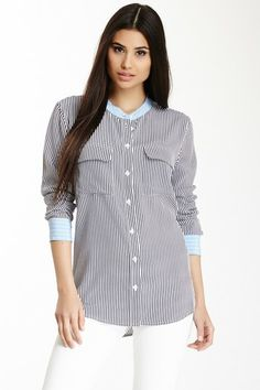 Slim Signature Silk Blouse by Equipment on @HauteLook $129, down from $298. js