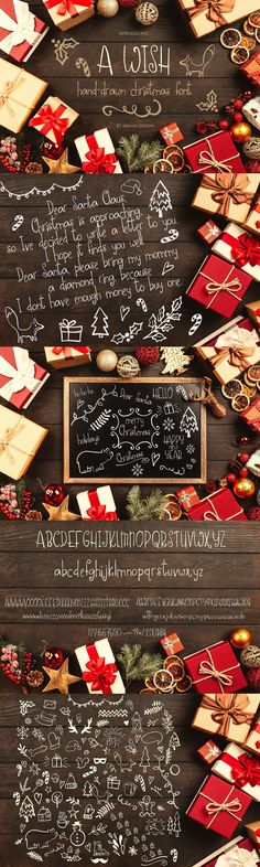 Christmas Fonts, Very Merry Christmas, Cool Fonts, Dear Santa, Lowercase A, Wish, How To Draw Hands, Bring It On, Basque