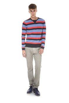 Bill Stripe Pullover
