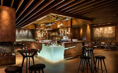 GRAIN - brand new bar at the Four Seasons