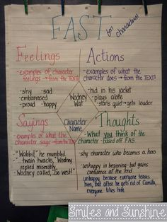 Smiles and Sunshine: Character Traits, Theme, and Main Idea