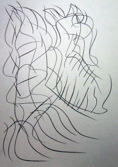 """Diavoletto"" 2012 Matita su carta 29,5x21 ©Pietro Gargano"