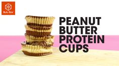 Yummy peanut butter protein cups!