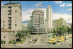Hotel y Plazuela Nutibara. New York Skyline, Dolores Park, Multi Story Building, Travel, Gowns, Ancient Architecture, Old Photography, Medellin Colombia, Countries