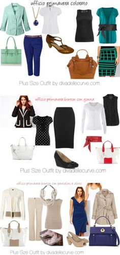 """""""plus size work outfits"""" by divadellecurve on Polyvore"""