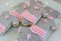 Tutu Cute Twin Baby Shower | CatchMyParty.com