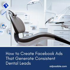 Facebook Book, Dentists, Social Marketing, Dental, Flow, Campaign, Social Media, Ads, Content