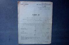 André Citroën.Circulaire à MM.Les concessionnaires n°2602 Tarif n°56 1938   Collections, Objets publicitaires, Publicités papier   eBay!