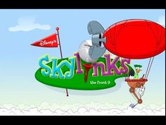 Donald Duck Game - Disney Donald's Skylinks Golf Course - Be Skylinks Master