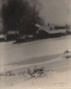 George H. Seeley  Snow  1900s (ca, taken) 1917 (print)
