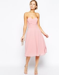 TFNC Debutante Midi Dress